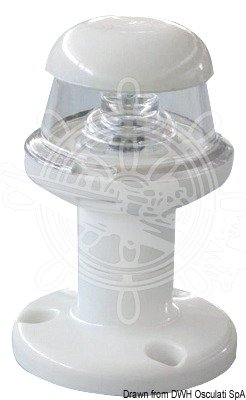 OSCULATI Fanale Bianco LED 360°