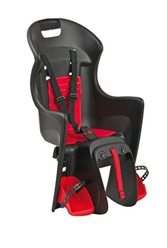 Polisport Kindersitze Babysitz Boodie Befestigung auf Gepäckträger Schwarz/Rot One Size
