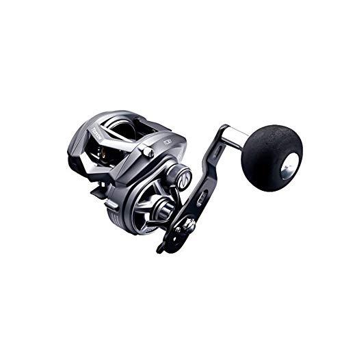 TICA Mulinello Titan Claw TC 301 con Antiritorno Infinito + Multi Stop, Tc301H Pesca, Alluminio, Grigio Scuro, Nero