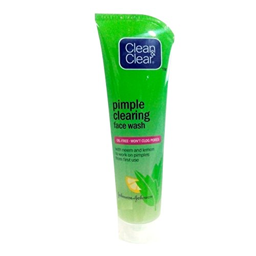 Clean & Clear Pimple Clearing Face Wash (Pack of 3) 80 g