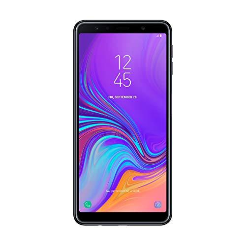 "Samsung Galaxy A7 - Smartphone de 6"" (Octa Core 2.2 GHz, RAM de 4 GB, Memoria de 64 GB, cámara de 24+5+8 MP, Android) Color Negro"