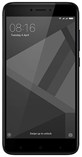 Redmi 4 (Black, 3GB RAM, 32GB Storage)