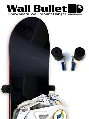 SkateHoarding Parete Bullet Snowboard Wall Mount Display Gancio Rack
