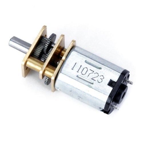 """Descrizione:         Gamma di tensione: 3-6V DC  A vuoto Velocità di rotazione: 40 ± 10% RPM  Temperatura ambiente: -5 - 40 gradi C  Senso di rotazione: Polo positivo a contatto """"+""""; Polo negativo """"-"""" contatto  Idle Current: 0.018A (...."""