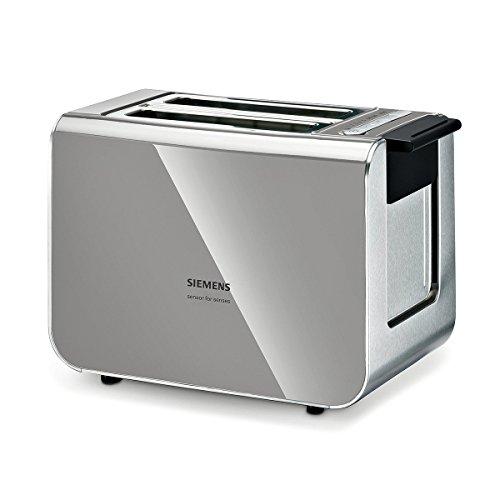 Siemens TT86105 tostapane 2 fetta/e Nero, Grigio 860 W