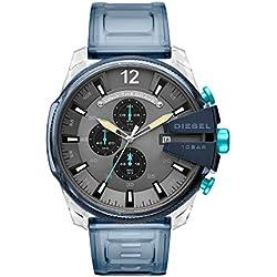 Diesel Reloj Cronógrafo para Hombre de Cuarzo con Correa en PU DZ4487