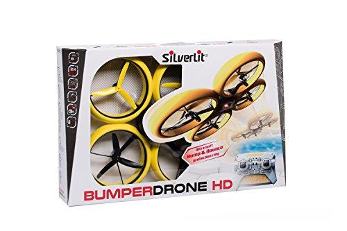 SilverLit Bumper Drone Incassable avec caméra HD - Couleur Jaune 26