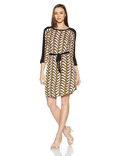 Juniper Women's Tunic Long Sleeve Top (5111_Orange_XS)