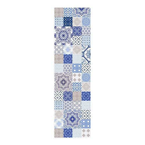 HUELLA - DECO Azulejos Tappeto 1001 Tappeto in Vinile