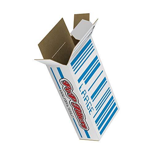 Astucci Vuoti per Distributore Automatico Modello Large, 102x54x27 mm - 250 pezzi- PoP Filters