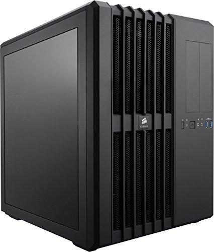Corsair Carbide Series Air 540 PC-Gehäuse (ATX High Airflow, Dual-Kammer, geeignet für ATX, Micro ATX, E-ATX, and Mini ITX, mit Lüfter) schwarz