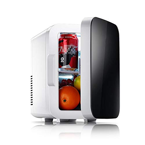 Mini Kühlschrank Tragbarer Kühlschrank 6-Liter-Kompaktkühler Mini Fridge Classic Für Autos, Road Trips, Privathäuser, Büros und Schlafsäle (Farbe, Größe : 20 * 27 * 30CM)