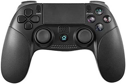 STOGA Wireless Controller, PC-Game-Controller für Vibration-Feedback, Gaming-Controller-Kompatibilität mit Playstation 4 / PS3 / Windows 7,8,10