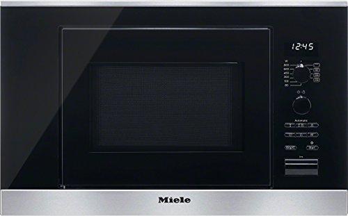 Miele M 6032 SC – Microondas (2100W, 220-240V, 10A, 59.5 cm, 31 cm, 37.2 cm) Acero inoxidable