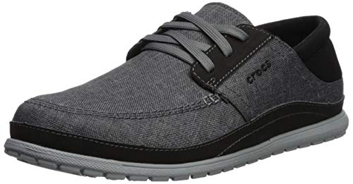 crocs Men's Slate Light Grey Sneakers-8 UK (M9) (204837-0DV)
