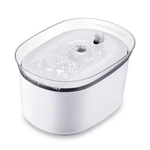 HoneyGuaridan automatischer Smart Haustier Wasserbrunnen mit Infraroterkennung,...