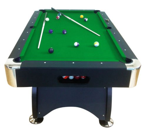 Billardtisch Pool Billard Tisch grün mit Zubehör robust 145 kg 7 ft schnelle Lieferung 2 Jahre Garantie