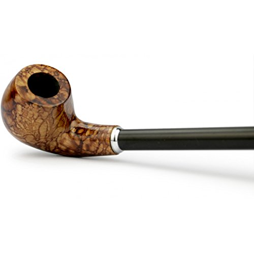 Rusty Bob - XXL tabaco de pipa de fumar extra largo Sandel-madera ...