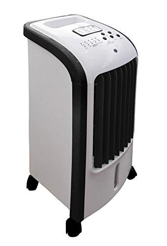 Ardes AR5R05 Eolo Mini Raffrescatore Evaporativo d'Ambiente 3 Livelli di Velocità Con Ruote Timer e...