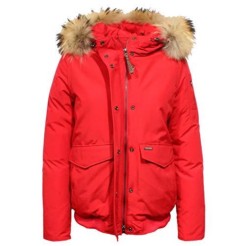 WOOLRICH F9230 Giubbotto Donna Minerva Bomber Red Jacket Woman [M]