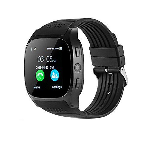 JiaMeng Smartwatches - Nuovo T8 BT3.0 Smart Watch Supporto SIM e fotocamera TFcard per Android per...