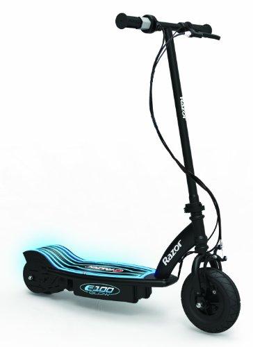 Razor Elektroroller E-Scooter E-Roller Elektroscooter E100 Glow Electric Scooter, Schwarz, 13173831