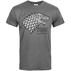 Hombres - Official - Game Of Thrones - Camiseta (L)