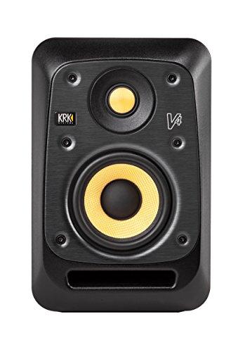 KRK V4 S4 85W Negro, Amarillo altavoz - Altavoces (De 2 vías, Alámbrico, XLR, 85 W, 50-24000 Hz, Negro, Amarillo)