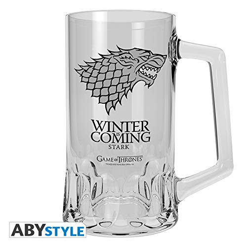 ABYstyle Game of Thrones Chope-Stark Bicchiere di Birra