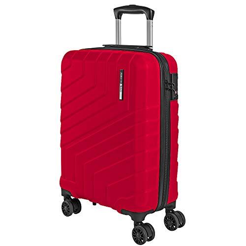 Valigia Trolley da Viaggio Rigida - Idonea Ryanair e Easyjet 55x40x20 cm 44 Litri- Bagaglio a Mano...
