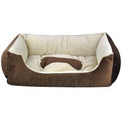 katzeninfo24.de Yahee365 Hundebett Hundekorb Hundesofa Hunde Katzen Tier Bett Katzenbett 5 Größe zum Wählen (M)
