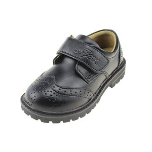 Chiximaxu Maxu Boy's Brogue Oxford Shoes Leather Flats (Toddler/Little Kid/Big Kid) 41Ser41tj8L