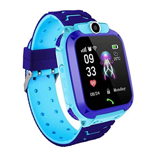 Kids Smart Watch Phone, GPS + WIFI Dual Positioning System Smart Orologio da Polso Per 3-12 Anni...