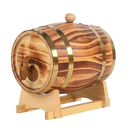 Fame Home Barrel Botti Rovere Botte di Rovere, Botti di Rovere Vintage da 5 Litri per Conservare o...