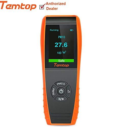Luftqualität-Messgerät- Therm P-600 Luft Qualitäts Laser Paticle Detektor Berufsmeter genaue Prüfung für PM2.5/PM10 TFT Farb-LCD-Anzeige