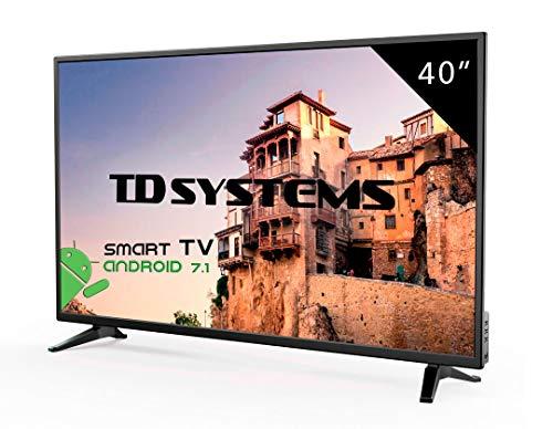 TV LED HD, full HD o UHD 4K TD Systems. HDMI, VGA, USB Lettore/Scrittore.