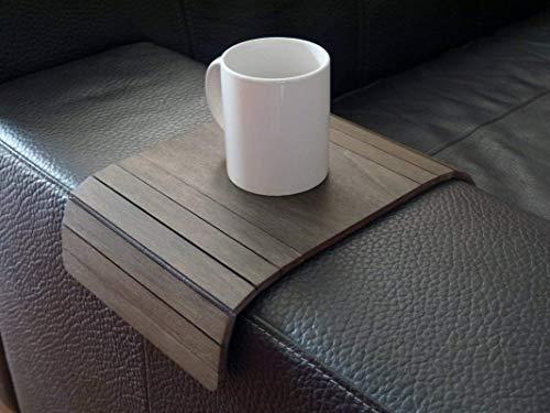 Piccolo tavolino laterale da bracciolo divano in molti colori come wenge Tavolini lato poltrona in...