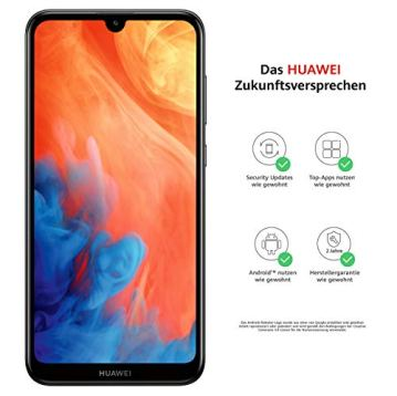 """Huawei Y7 2019 - Smartphone de 6.26"""" (RAM de 3 GB, Memoria de 32 GB, Dual Nano, 4000 mAh, Cámara de 13 MP, Android 9) Negro [Exclusivo Amazon]"""