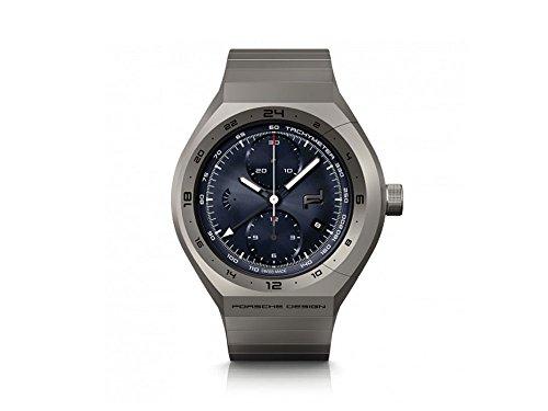 Porsche Design Monobloc Actuator Automatik Uhr, Titan, GMT, 6030.6.02.003.02.5