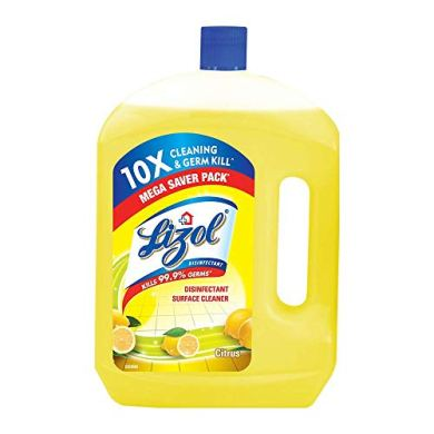 Lizol Disinfectant Floor Cleaner Citrus, 2 L 16