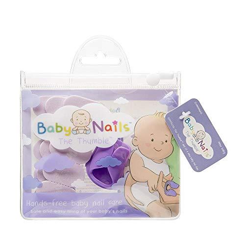 Baby Nails - Lime Unghie per Neonati (0 mesi +) Lima Unghie Cura, Pulisce e Rifinisce I Cura delle Unghie per Dita di Mani e Piedi I Manicure Neonato - 3 x 5