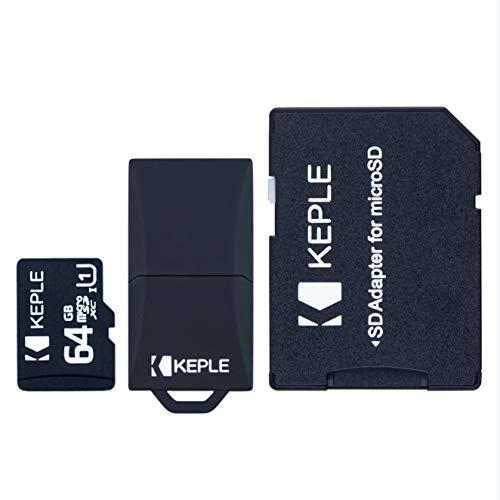 Scheda di memoria Micro SD da 64 GB | MicroSD Class 10 compatibile con Go Pro Gopro Hero 3, 4, 5, Session | Drift Stealth 2, Contour Roam 3, Veho Muvi K2 NPNG Action Camera Fotocamera Cam | 32 GB