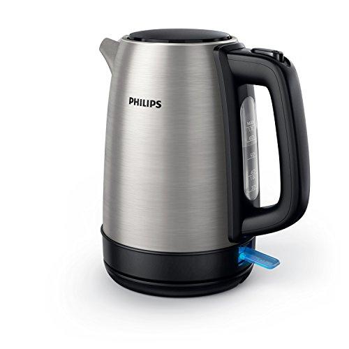 Philips HD9350/90 Bollitore in Acciaio Inox, Compatto ed Elegante Per un Uso Affidabile e Duraturo