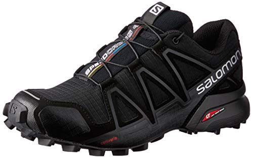 Salomon Speedcross 4, Scarpe da Trail Running Donna, Nero Black Metallic), 39 1/3 EU