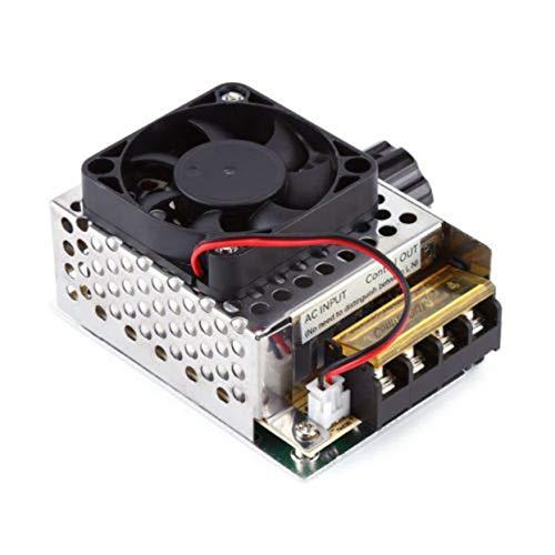 Tellaboull Dimmer del termostato del Ventilatore del regolatore di velocità del Motore del...