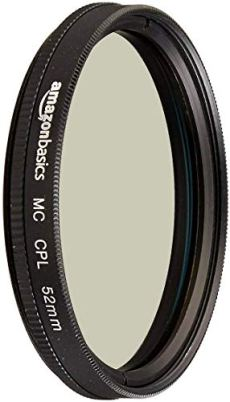 AmazonBasics - Filtro polarizador circular - 52mm
