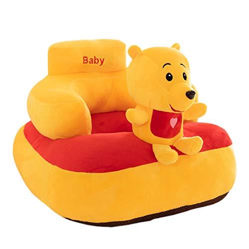 Poltrona per Bambini Animal Sweet Seats Kids Mini Lounger Sofa (45 × 50cm) Yellow