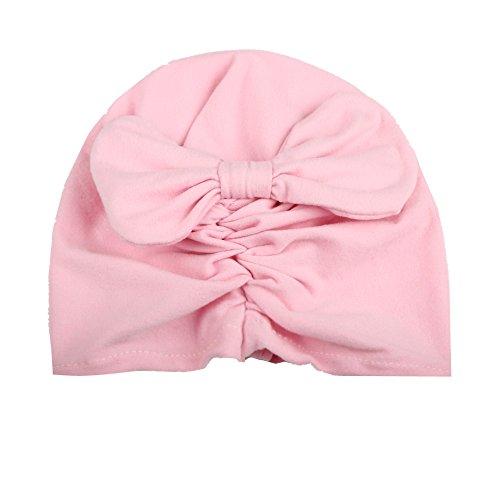 YICANG Cappello da Bambina in Stile Indiano per Neonati Cappello da Bowknot in Velluto per Bambina...