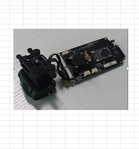 Laliva Part & Accessories JJRC X9 Heron CFLY Dream RC Drone Quadcopter Pezzi di Ricambio Lama Motore ESC Shell Caricatore GPS PTZ Set Telecomando Vite ECC - (Colore: 1pcs PZT Set)