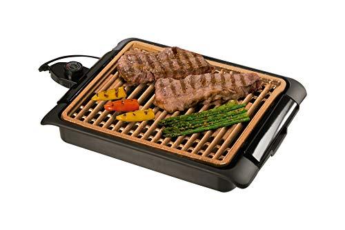 BEST DIRECT Starlyf Smokefree Grill Griglia No Fumo Carne e Verdure Grigliate Set Piastra Extra...